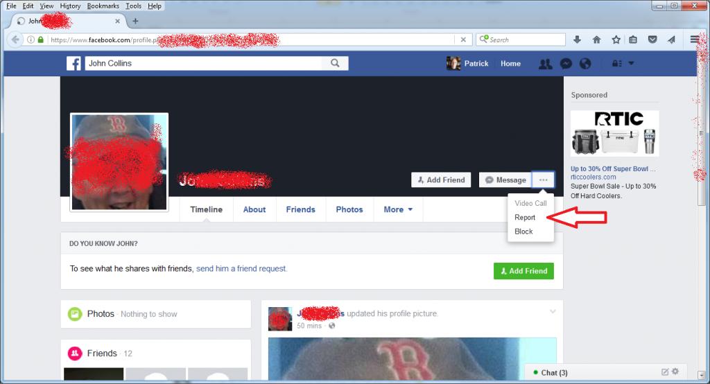 ReportAFakeFacebookAccount1